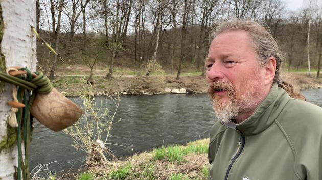 Jarní splutí řeky Opavy - Radim Sieber